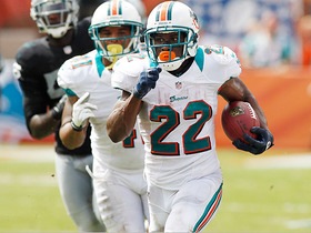 Video - Miami Dolphins running back Reggie Bush's unlikely return