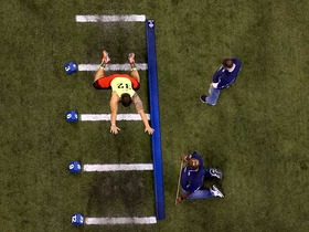 Watch: Manti Te'o broad jump