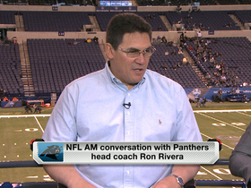Video - Ron Rivera joins 'NFL AM'