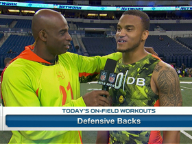 Watch: Dee Milliner: 'I don't know why they thought I was slow'