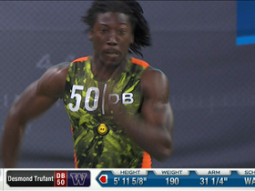 Watch: Desmond Trufant runs the 40-yard dash