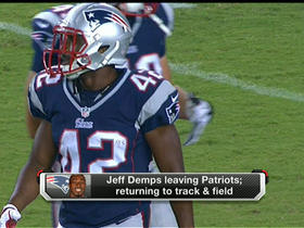Video - Jeff Demps leaving New England Patriots