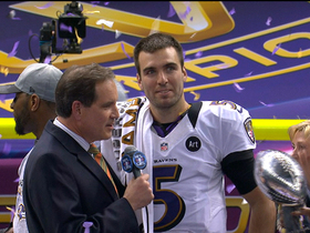 Video - Baltimore Ravens agree to a new contract with quarterback Joe Flacco
