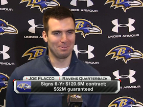 Flacco: 'Contract not about money, but respect'