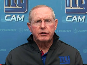 Video - New York Giants head coach Tom Coughlin joins 'NFL AM'