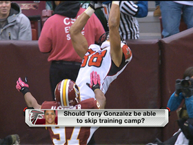 Video - Should Tony Gonzalez skip training camp?