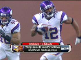 Video - Minnesota Vikings to trade Percy Harvin to Seattle Seahawks