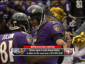 Video - Baltimore Ravens trade Anquan Boldin to San Francisco 49ers