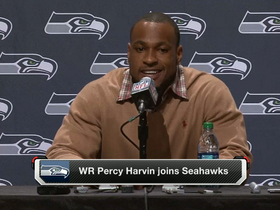 Video - Percy Harvin introduced by Seattle Seahawks