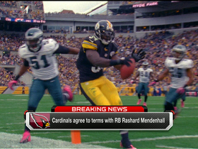 Video - Arizona Cardinals sign Rashard Mendenhall
