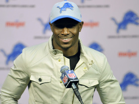 Video - Reggie Bush meets Detroit Lions media