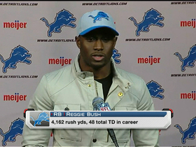 Video - Could Reggie Bush lead Detroit Lions to playoffs?