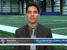 Video - On the Clock: Minnesota Vikings