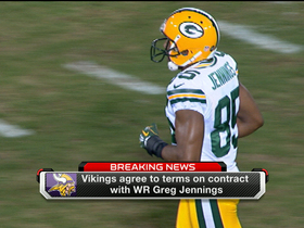 Video - Greg Jennings agrees to terms with Vikings