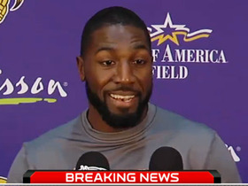 Video - Minnesota Vikings introduce Greg Jennings