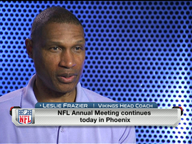 Video - Frazier on Jennings: 'It was huge for our football team'
