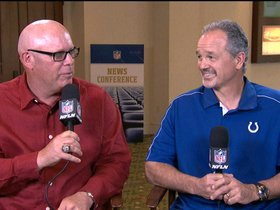 Video - Indianapolis Colts coach Chuck Pagano, Arizona Cardinals coach Bruce Arians reflect on time together