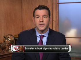 Video - Branden Albert signs Kansas City Chiefs' franchise tender