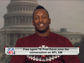 Video - Fred Davis on 'NFL AM'