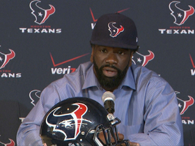 Video - Ed Reed is introduced in Houston
