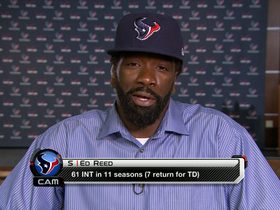 Video - Ed Reed one-on-one as a Houston Texan