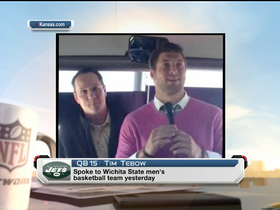 Video - Tim Tebow welcomes Wichita State Shockers