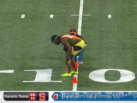 Watch: 2013 Combine workout:  Shamarko Thomas