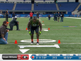 Watch: 2013 Combine workout:  Shawn Williams