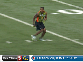 Watch: 2013 Combine workout:  Steve Williams