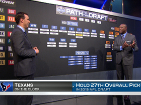 Watch: Draft War Room: Houston Texans