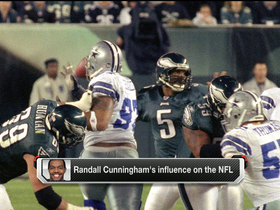 Video - Donovan McNabb reflects on Randall Cunningham's influence