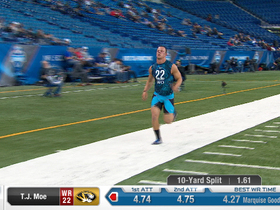 Watch: 2013 Combine workout:  T.J. Moe