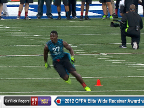 Watch: 2013 Combine workout:  Da'Rick Rogers