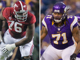 Watch: D.J. Fluker pro comparison