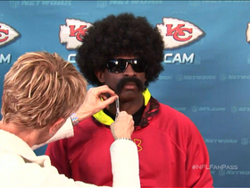 Video - Leon Sandcastle gets ready for his interview