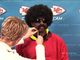 Watch: Leon Sandcastle gets ready for his interview