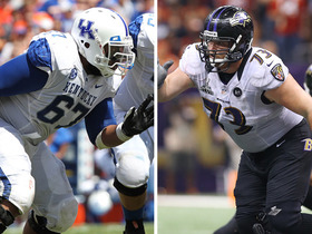 Watch: Larry Warford pro comparison
