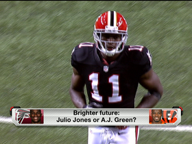 Watch: Brighter future: Julio Jones or A.J. Green?