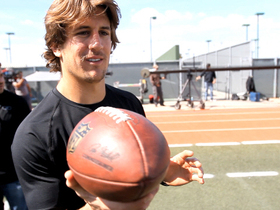 Watch: 'Game Changers': Jordan Rodgers' spinning ball trick