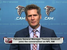 Watch: Falcons GM Dimitroff on Banks: 'This isn't a charity case'