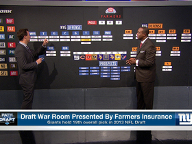 Video - Draft War Room: New York Giants