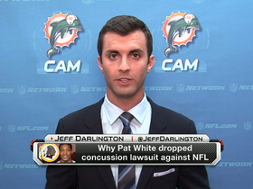 Video - Why Pat White dropped lawsuit against NFL