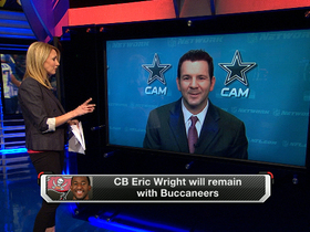 Video - Eric Wright will remain with Tampa Bay Buccaneers