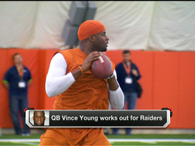 Video - Vince Young works out for Oakland Raiders
