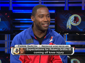Video - Pierre Garcon on RG3's progress
