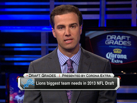 Video - Detroit Lions' NFL draft needs