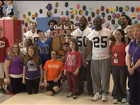 Watch: In the community: Bills and Browns