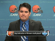Watch: Browns react to FBI raid on owner's business