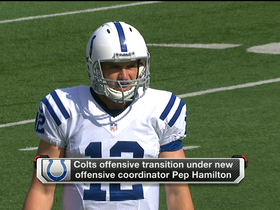 Watch: Luck on new Colts offense: 'It's a no-coast offense'