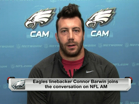 Video - Connor Barwin joins 'NFL AM'